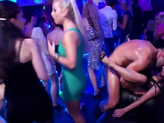 Dickloving eurobabe pounded by stripper after a long time sucking cock