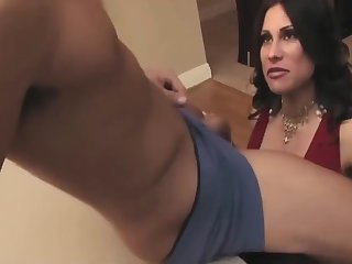 A Busty Milf Seduced Increased by Fucked A Young Stud