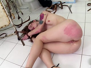 Acute ass spanking with the addition of anal making love for Misha Cross