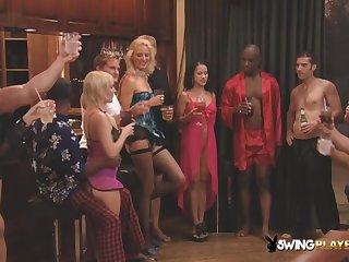 Sensual flock welcomes new american swingers