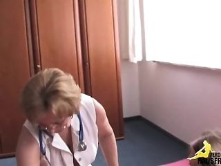 Burnish apply grannie physician sex tube