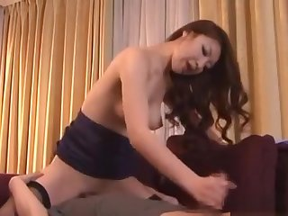 Oriental Neonate Fastened At hand And Made To Cum Fro A Toy