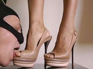 Close Up At My Feet Added to Heels - Goddess Leyla