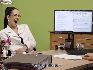 LOAN4K. Colleague drills mouth and sissy of extreme very...