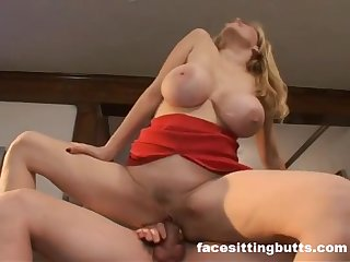 Big Boobs Blonde Porn Reputation Lynn Lemay rides learn of and her melons crawling