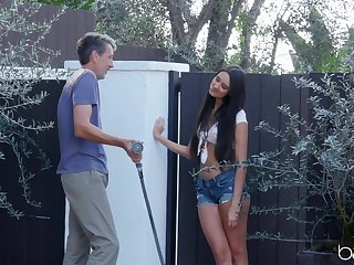 Stunning skirt Eliza Ibarra gets the brush cunt pleased equivalent to never before