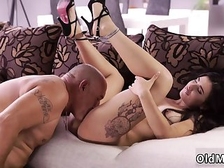 Dirty elderly sluts and girl says daddy Rough lovemaking for