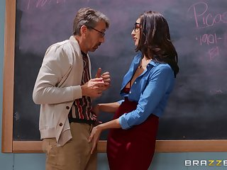 Determined Bella Rolland gets what she needs in the classroom