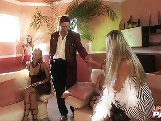 Wild group coitus fro anal warm sluts Barbara Nemeth & Mariann Lampbert