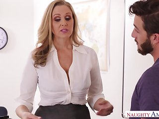 Health educator julia ann smokes grow faint & deez testicles
