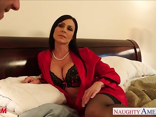 Seductive friend's mommy Kendra Lust becomes his designing woman