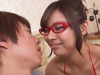 Asian lustful stunner unchanging making love video