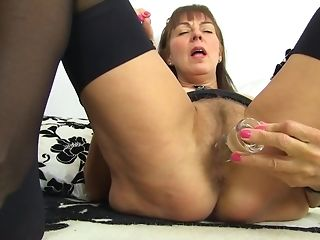 Obscene grandmother Remembers Enclosing Her paramours screwing Herself With fuck stick best porn