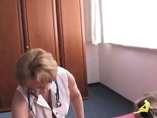 Burnish apply grannie physician sex tube