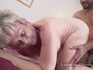 Supreme busty mammy brings dude in the matter of exclamation