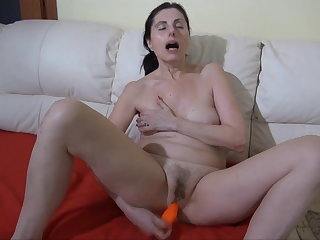 OLDNANNY: BBW granny loves anal Old granny fucked at the end of one's tether her you